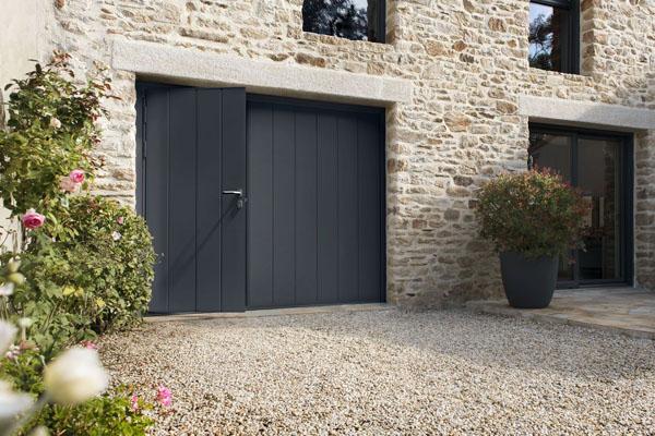 Porte de garage basculante sectionnelle enroulable for Porte garage nancy